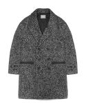 지플리시(ZPLISH) OVERSIZED WOOL COAT(WH)