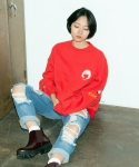 키치콕(KITCHCOCK) MATILDA SWEAT SHIRT-RED