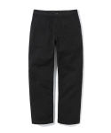 17ss cotton fatigue pants black