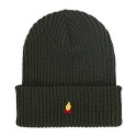 에드투씨(ADD2C) Campfire Needlework Beanie_Khaki
