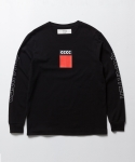 CCCC LONG SLEEVE T SHIRT (BLACK)