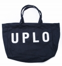 유앤엘씨(U&LC) WOOL TOTE BAG_navy