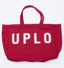 유앤엘씨(U&LC) WOOL TOTE BAG_red