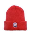 그라스하퍼(GRASSHOPPER) G LOGO BEANIE RED