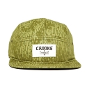 크룩스앤캐슬(CROOKS & CASTLES) CROOKS & CASTLES Mens Knit 5 Panel Cap - Jungle Fever