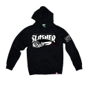 CREEP STREET SLASHER PULLOVER HOODY (BLACK)