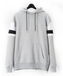 [UEX] PULL OVER HOODY TAKE TWO LIGHT GREY[무기모.ver]