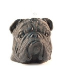 [EYECANDLE] Bulldog Candle (black)