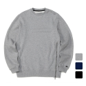 언리미트(UNLIMIT) Unlimit - Heavy Zip Crew Sweat (AE-C048)