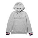그루브라임 2015 POINT RIB HOOD SWEATSHIRTS (M/GREY) [GH001D43MG]