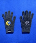 애니메이트(ANIMATE) [ANIMATE] MOON SMART TOUCH GLOVE (GREY)