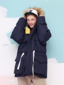 버닝(BURNING) Arctic N-3B parka (NAVY)