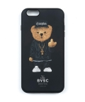 스티그마(STIGMA) PHONE CASE COMPTON BEAR BLACK iPHONE6S/6S+/7/7+