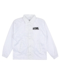 하울(HOWL) COACHES JACKET WHITE
