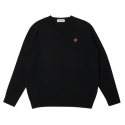 CHEESE KNIT_BLACK