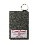 티레벨(T-LEVEL) Harris Tweed Card Holder Grey