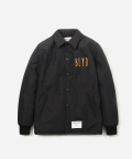 블루야드(BLUE YARD) NEON COACH JACKET BLACK