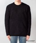 피스워커() Supple Knit - Black / Semiover