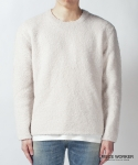 피스워커() Supple Knit - Ivory / Semiover