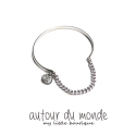 오뜨르 뒤 몽드(AUTOUR DU MONDE) CHAIN BANGLE BRACELET