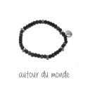 오뜨르 뒤 몽드(AUTOUR DU MONDE) LITTLE SKULL MEN BRACELET