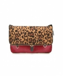 미미마끄(MIMIMAC) PIXI_Clutch Leopard & Red
