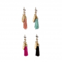 마이믹스드디자인(MY MIXED DESIGN) Metal tassel color gold earring