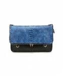 미미마끄(MIMIMAC) PIXI_Clutch Blue & Black