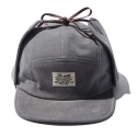 디얼스(THE EARTH) CORDUROY EARFLAP CAMP CAP - GREY
