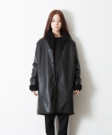 휴팟() REVERSIBLE SHEARLING COAT