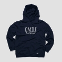 QMILE_SHRED FOR FUN HOODIE_NAVY