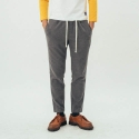 러닝하이(RUNNING HIGH) [UNISEX] NAPPING RIB PANTS [GREY]