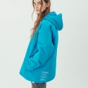 러닝하이(RUNNING HIGH) [UNISEX] WATERPROOF TASLAN ANORAK [SKY BLUE]