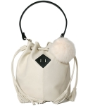 스티디(STIDIE) lucky Jane bucket bag-ivory