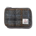 디얼스(THE EARTH) HARRIS TWEED CARD ZIP WALLET - GREY2