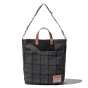 디얼스(THE EARTH) HARRIS TWEED TOTE&CROSS BAG - GREY2