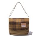 디얼스(THE EARTH) HARRIS TWEED CROSS BAG - MUSTARD