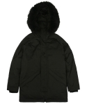 콰이트(QUITE) [콰이트] Urban Heavy Down Parka (Black)