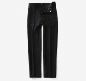 모옌() AGRESSION HEAVY WOOL SLACKS - BLACK