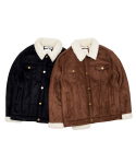 바스틱() Vastic Suede fur Mustang Jacket_Brown