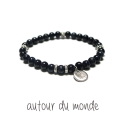 오뜨르 뒤 몽드(AUTOUR DU MONDE) SIMPLE GEMSTONE MEN BRACELET