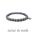 오뜨르 뒤 몽드(AUTOUR DU MONDE) TIRE GEMSTONE MEN BRACELET