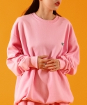 베이직코튼(BASIC COTTON) color logo mtm - PINK