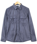 Western Style S.Shirt w Nylon Lining (charcoal)