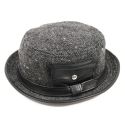 뉴욕 햇(NEW YORK HAT CO.) NEW YORK HAT X WOOL RICH TWEED POCKET FEDORA