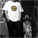 대드릭(DADLIK) DADLIK x COMON TEE SET (WHITE/RED) - EMBLEM 포함