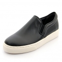 슈보니에타(SHOBONYATA) SOFT LEATHER SIMPLE BASIC SHEEPSKIN COUPLE SLIPON SNEAKERS_S5034BM