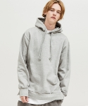 이지스튜디오(EZYSTUDIO) side zipper over hoodie gray