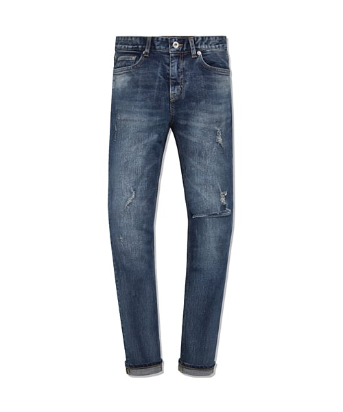 모디파이드(MODIFIED) LUND BURST WASHED JEANS