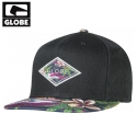 [GLOBE] DIAMOND SNAP BACK CAP(BLACK)